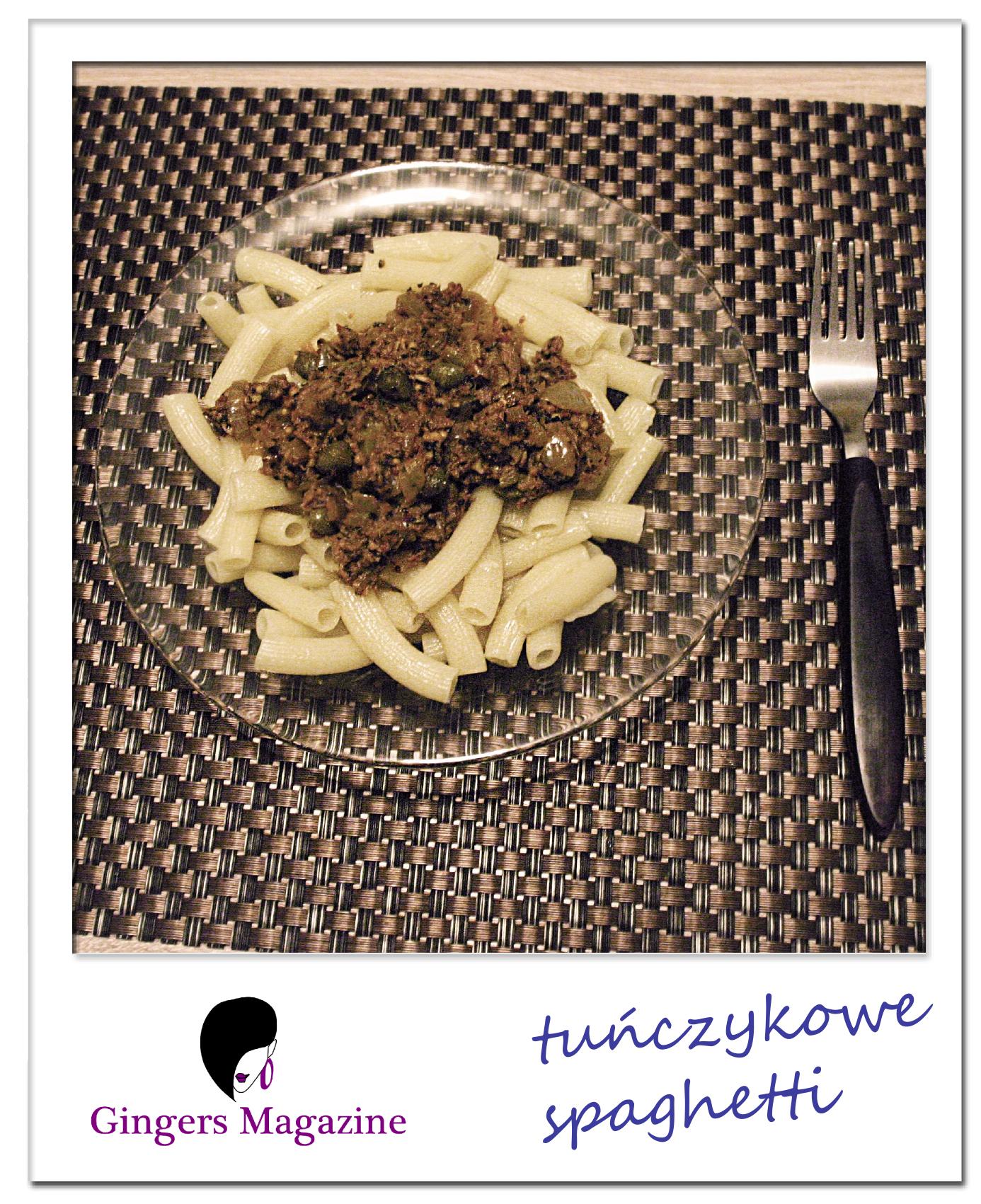 Tunczykowe spaghetti